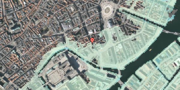 Stomflod og havvand på Laksegade 20F, 1. th, 1063 København K
