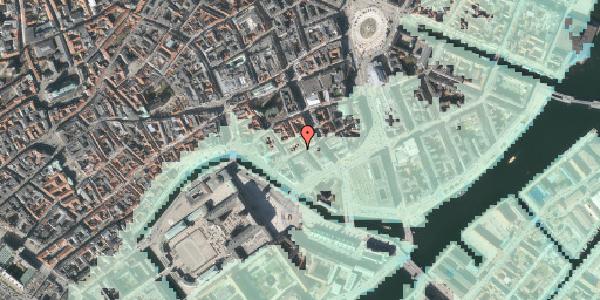 Stomflod og havvand på Laksegade 26, 1. tv, 1063 København K