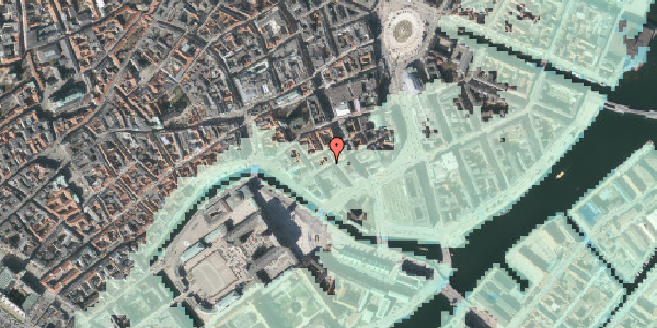 Stomflod og havvand på Laksegade 26, 2. th, 1063 København K