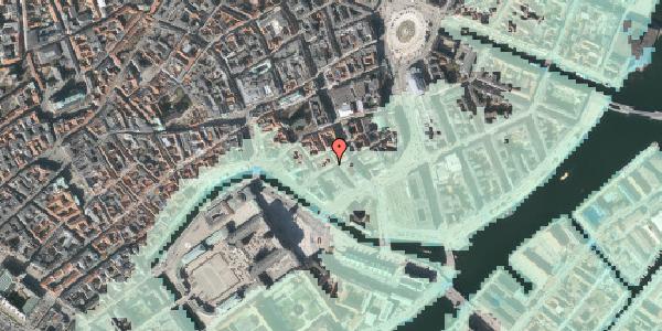 Stomflod og havvand på Laksegade 26, 2. tv, 1063 København K