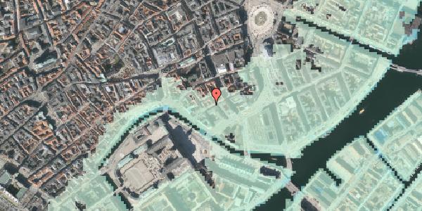 Stomflod og havvand på Laksegade 28, 3. , 1063 København K