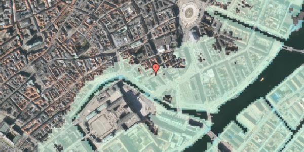 Stomflod og havvand på Laksegade 30, kl. , 1063 København K