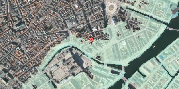 Stomflod og havvand på Laksegade 30, st. , 1063 København K