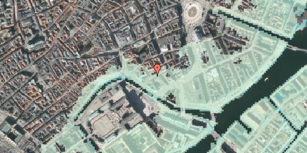 Stomflod og havvand på Laksegade 32, 2. tv, 1063 København K