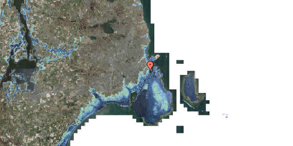 Stomflod og havvand på Landemærket 9, kl. 2, 1119 København K
