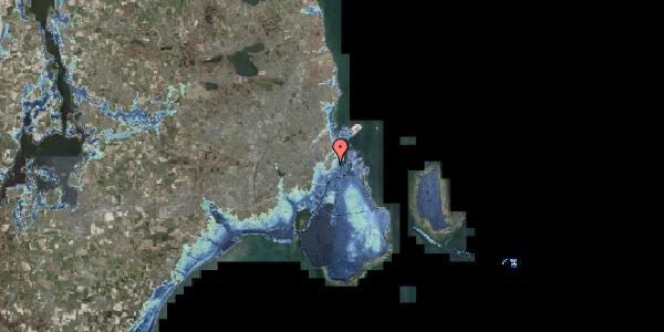 Stomflod og havvand på Landemærket 9, 2. tv, 1119 København K