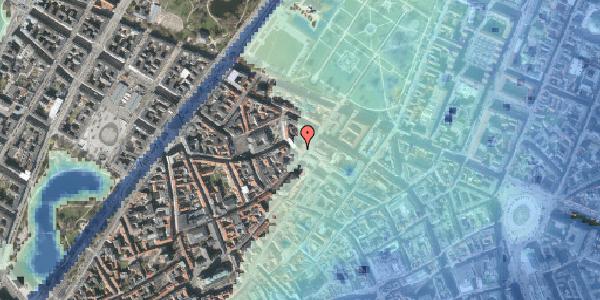 Stomflod og havvand på Landemærket 19, st. , 1119 København K