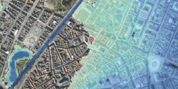 Stomflod og havvand på Landemærket 21, st. , 1119 København K