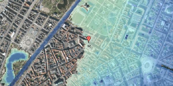 Stomflod og havvand på Landemærket 29, st. th, 1119 København K