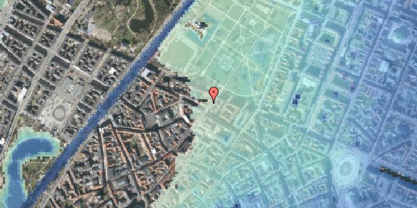 Stomflod og havvand på Landemærket 47, 1. , 1119 København K