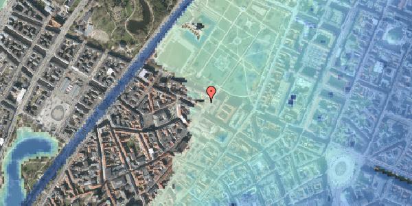 Stomflod og havvand på Landemærket 49, st. , 1119 København K