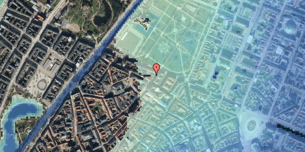 Stomflod og havvand på Landemærket 51, kl. , 1119 København K