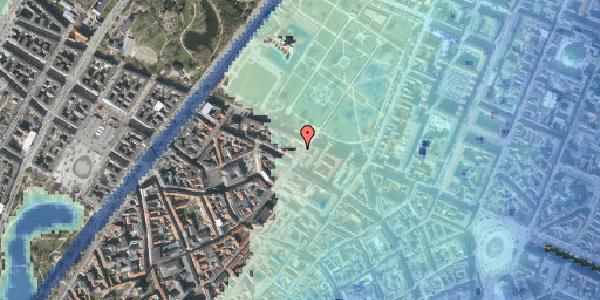 Stomflod og havvand på Landemærket 51, 3. , 1119 København K