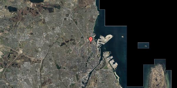 Stomflod og havvand på Lange-Müllers Gade 11, 1. tv, 2100 København Ø