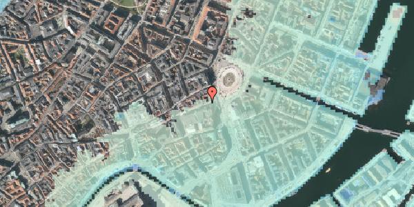 Stomflod og havvand på Lille Kongensgade 4, 3. tv, 1074 København K