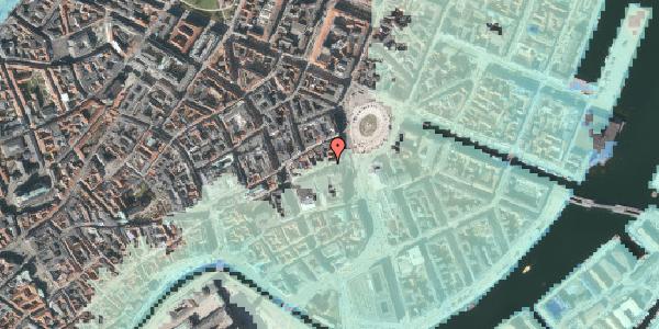 Stomflod og havvand på Lille Kongensgade 6, 1. , 1074 København K
