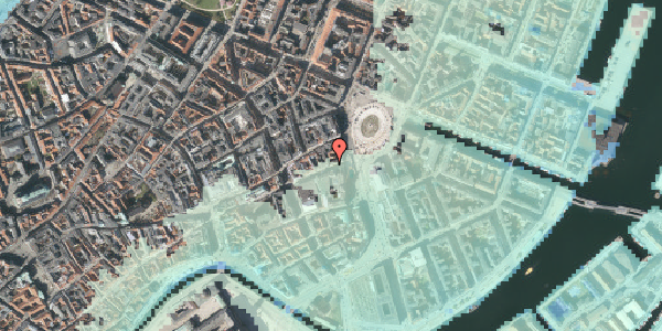 Stomflod og havvand på Lille Kongensgade 6, 3. , 1074 København K