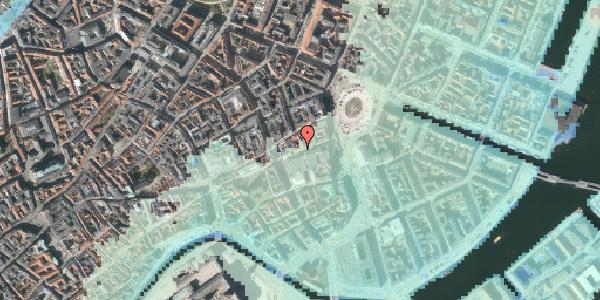 Stomflod og havvand på Lille Kongensgade 16, kl. , 1074 København K