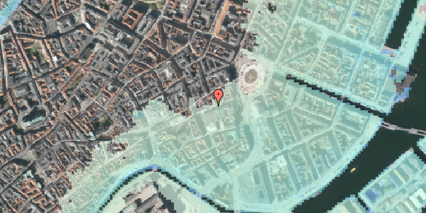 Stomflod og havvand på Lille Kongensgade 16, st. th, 1074 København K