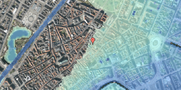 Stomflod og havvand på Løvstræde 4B, 1. , 1152 København K