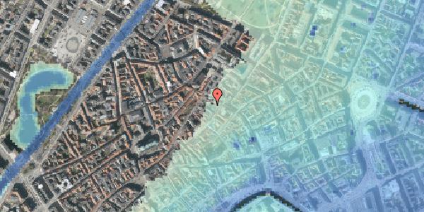 Stomflod og havvand på Løvstræde 4B, 2. , 1152 København K
