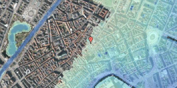 Stomflod og havvand på Løvstræde 10, 2. , 1152 København K