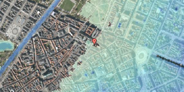Stomflod og havvand på Møntergade 4, kl. , 1116 København K