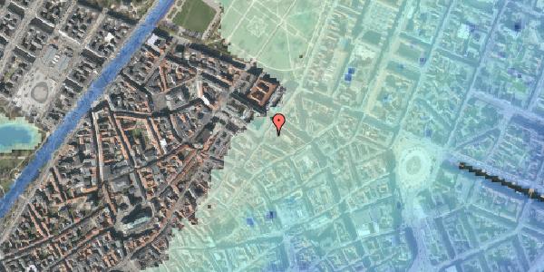 Stomflod og havvand på Møntergade 6A, 1116 København K