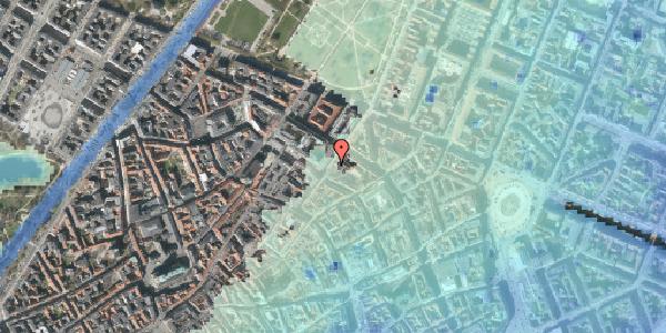 Stomflod og havvand på Møntergade 6, 1. , 1116 København K