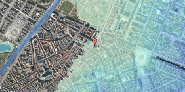Stomflod og havvand på Møntergade 8, 1. , 1116 København K