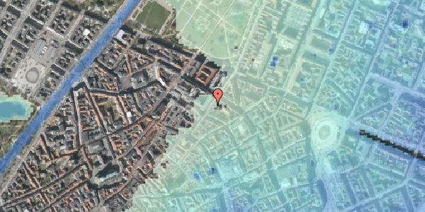 Stomflod og havvand på Møntergade 8, 2. , 1116 København K