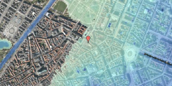 Stomflod og havvand på Møntergade 10A, 2. , 1116 København K