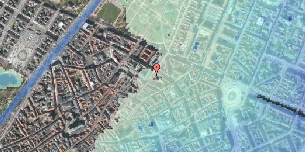 Stomflod og havvand på Møntergade 10, kl. , 1116 København K
