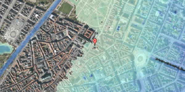 Stomflod og havvand på Møntergade 12, kl. , 1116 København K