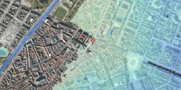 Stomflod og havvand på Møntergade 20, st. , 1116 København K