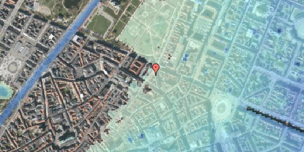 Stomflod og havvand på Møntergade 22, st. mf, 1116 København K