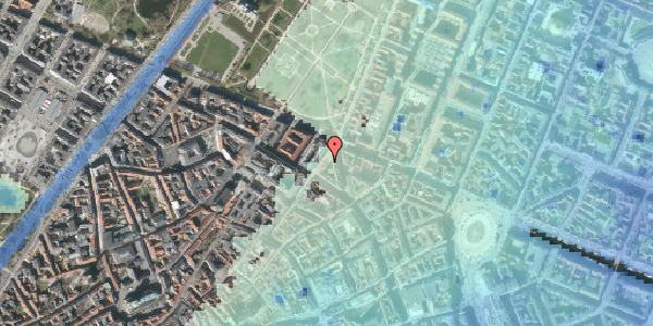 Stomflod og havvand på Møntergade 22, 2. tv, 1116 København K