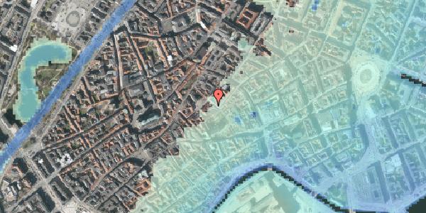 Stomflod og havvand på Niels Hemmingsens Gade 9, st. , 1153 København K