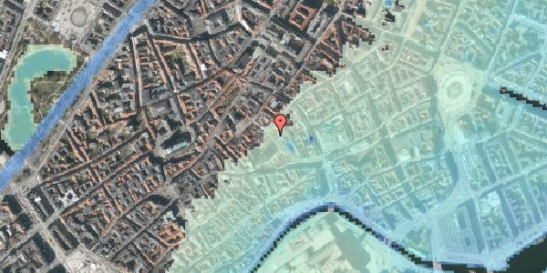 Stomflod og havvand på Niels Hemmingsens Gade 20, kl. , 1153 København K