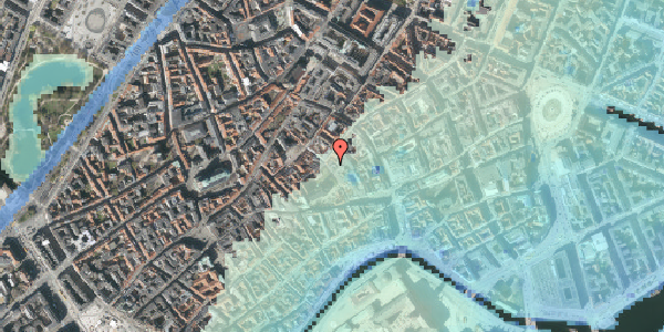 Stomflod og havvand på Niels Hemmingsens Gade 20, 4. 1, 1153 København K