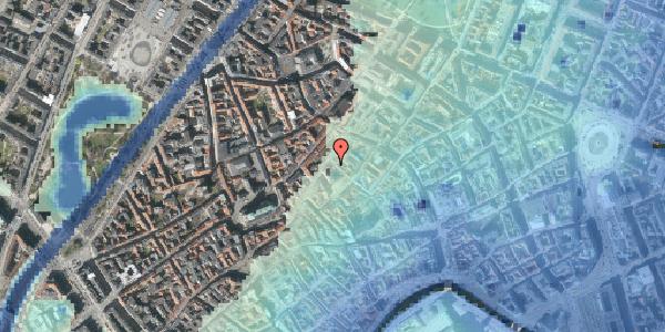 Stomflod og havvand på Niels Hemmingsens Gade 23, st. , 1153 København K
