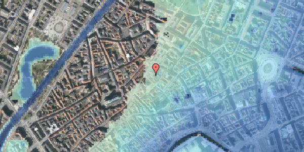 Stomflod og havvand på Niels Hemmingsens Gade 32B, st. , 1153 København K