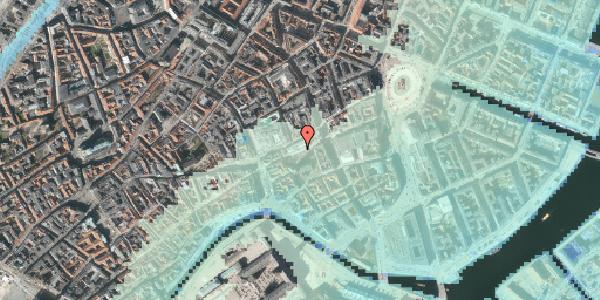 Stomflod og havvand på Nikolaj Plads 6, st. , 1067 København K