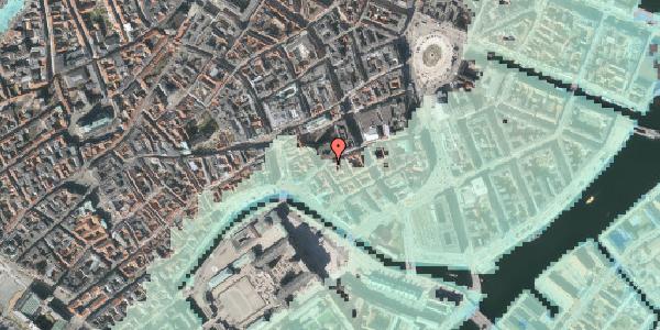 Stomflod og havvand på Nikolaj Plads 27, st. , 1067 København K