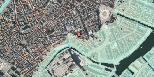 Stomflod og havvand på Nikolaj Plads 30, 1. , 1067 København K
