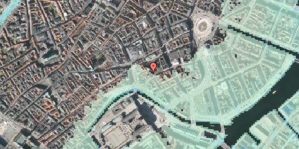 Stomflod og havvand på Nikolaj Plads 30, 2. , 1067 København K