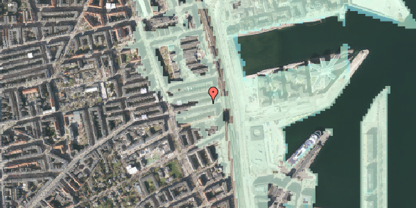 Stomflod og havvand på Nordre Frihavnsgade 99, 4. th, 2100 København Ø