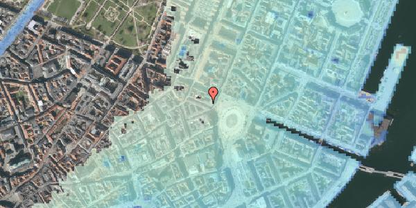 Stomflod og havvand på Ny Adelgade 2, 4. , 1104 København K