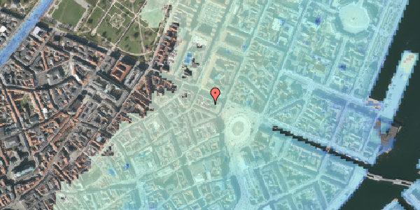 Stomflod og havvand på Ny Adelgade 4A, st. , 1104 København K