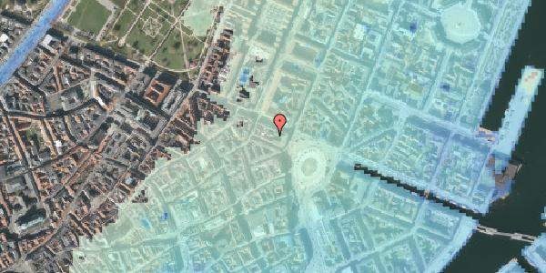 Stomflod og havvand på Ny Adelgade 4A, 2. , 1104 København K